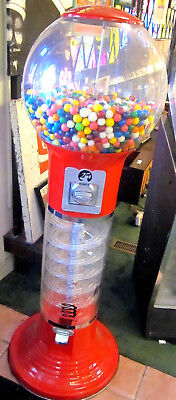 Giant Spiral Gumball Wizard Machine With Gumballs LOCAL PICKUP ONLY