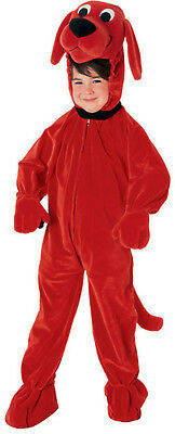 Clifford The Big Red Dog Jumpsuit Toddler Costume