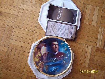 Free Shipping  - ST IV - The Voyage Home - Star Trek Collector Plate - Hamilton