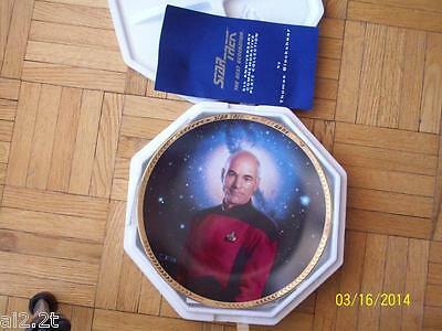 Captain Jean-Luc Picard Collector Plate