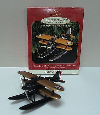 Hallmark Christmas Ornament 1999 Curtiss R3C-2 Seaplane Third in Sky's The Limit