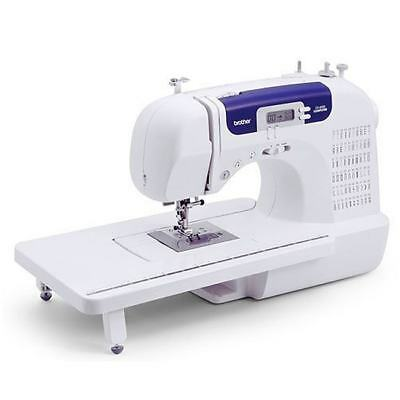 Brother Mini CS6000i 60 Stich Electric Embroidery Heavy Duty Sewing Machine Set