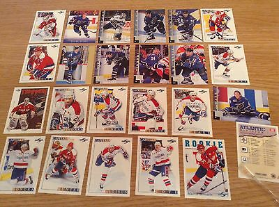 Job Lot Of Great Capitals NHL Ice Hockey Trading Cards