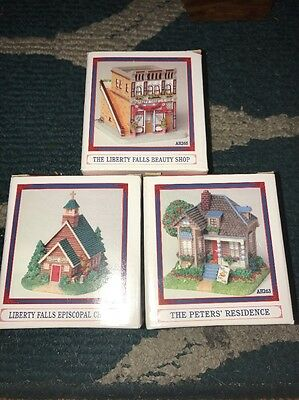 3 Liberty Falls Collection Beauty Shop Episcopal Church Peters Residence