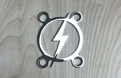 BOLT Neck Plate for your Guitar or Bass - Chrome