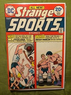 Strange Sports Stories #4 VF- DC Comics