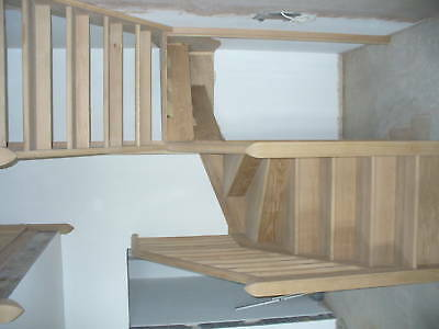 6 winder staircase,  275mm strings in pine (delivery options)