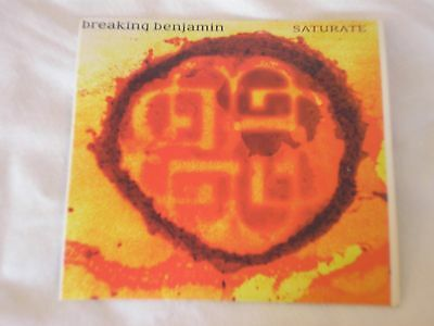Breaking Benjamin Saturate Promo Vinyl Decal Sticker Authentic