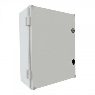 Control Box with Lock UNI-1 Manifold Cover 400x300x160 mm Industrial Box