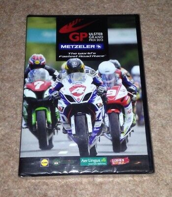 The Ulster Grand Prix 2013 Official Review Duke Racing DVD Sealed