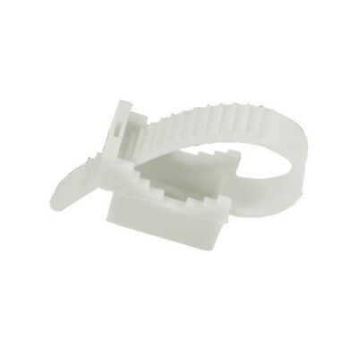 10 Pieces Cable Tie UP50 White 12.3 0394