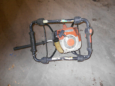 Stihl BT121 Auger Head. Runs.