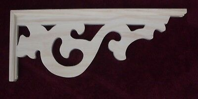 "Victorian Wood Gingerbread {20"" x 8"" } Corbel Bracket #67 ~ by  PLD"