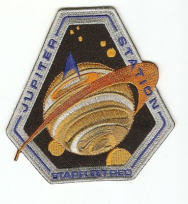 + STAR TREK Aufnäher Patch Starfleet Academy Red Squadron JUPITER STATION