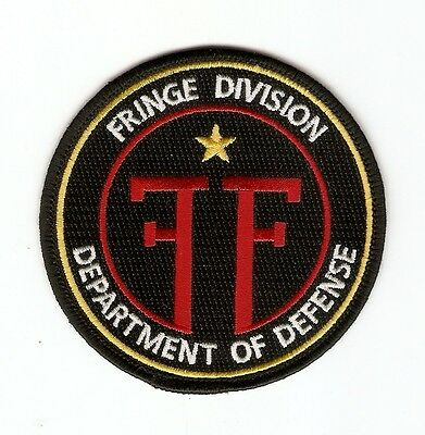 + FRINGE GRENZFÄLLE DES FBI Aufnäher Patch FRINGE DIVISION DEPARTMENT OF DEFENSE