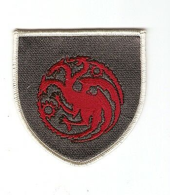 + GAME OF THRONES Aufnäher Haus TARGARYEN Logo