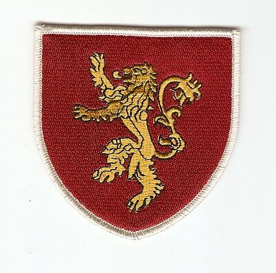 + GAME OF THRONES Aufnäher Haus LANNISTER Logo