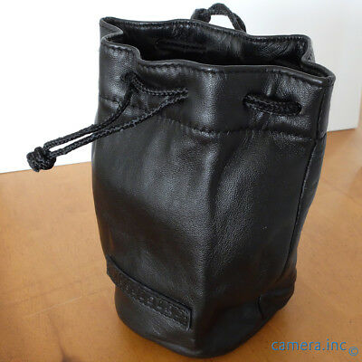 "Hasselblad Medium Leather Lens Pouch 6"" x 4"" *CLEAN & MINTY*"