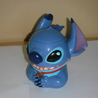 DISNEY ON ICE LILO AND STITCH MUG CUP W/ HINGED LID - Collectible