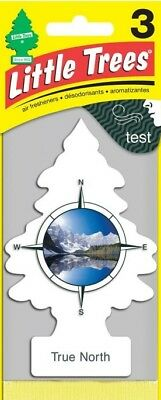 Little TreesCar Air Freshener, True North. Pack of 3.  /  FREE SHIPPING