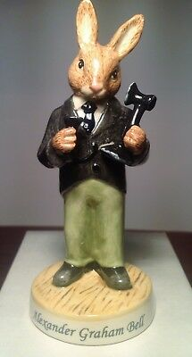 Royal Doulton Alexander Graham Bell Bunnykins Model DB436 Perfect