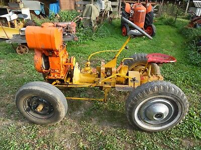 Farm Built  Tractor Wisconsin Gas Engine/  Model A Trans / Overdrive Tranmission