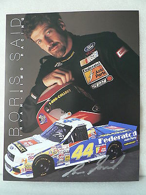 BORIS SAID  American Race Car Driver AUTOGRAPH SIGNED PHOTO  8 X 10