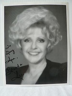 BRENDA LEE Singer  ORIGINAL AUTOGRAPH SIGNED PHOTO 8  X 10