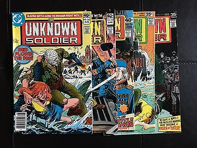 Unknown Soldier (DC, 1977) Lot of 5 Issues #210, #215, #228, #240, #242