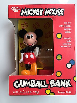 Disney Mickey Mouse Vintage Gumball Bank Tim Mee Toy