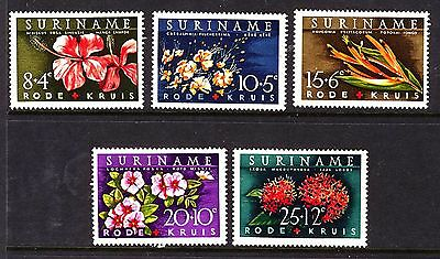 Suriname - 1962 Red Cross Fund Mint 503/09