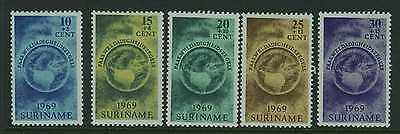 Suriname - 1969 Easter Charity set Mint 647/51
