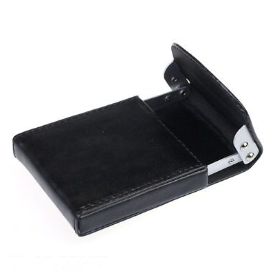 The Minimalist Wallet Leather Slim ID Credit Card Holder Men's Pocket BLACK NEW