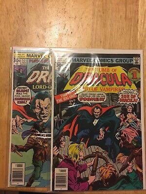 Tomb of Dracula 53,54 ( BOTH BLADE APPEARANCES)