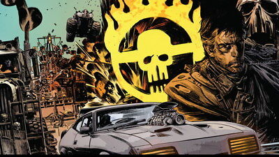 """079 Mad Max 4 Fury Road - Fight Shoot Car USA Movie 24""""x14"""" Poster"""