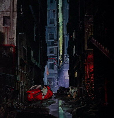 "061 Akira - Red Fighting Hot Japan Anime 14""x14"" Poster"