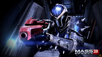 "118 Mass Effect 3 - ME Killer Fighting Shooting Hot TV Game 42""x24"" Poster"