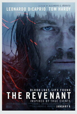 "109 Leonardo DiCaprio - The Revenant Handsome Actor Movie Star 24""x35"" Poster"