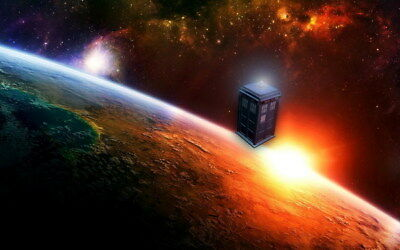 """179 Doctor Who - BBC Space Travel Season 8 Hot TV Show 38""""x24"""" Poster"""