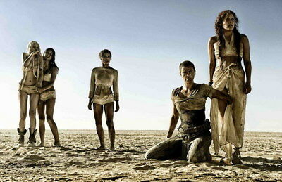 """123 Mad Max 4 Fury Road - Fight Shoot Car USA Movie 37""""x24"""" Poster"""