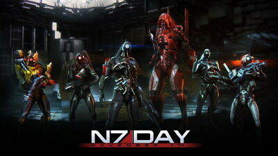 """215 Mass Effect 3 - ME Killer Fighting Shooting Hot TV Game 42""""x24"""" Poster"""