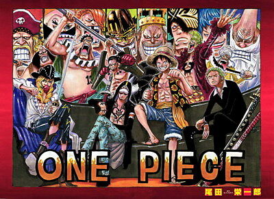 """191 One Piece - ACE OP Monkey D Luffy Fighting Japan Anime 33""""x24"""" Poster"""