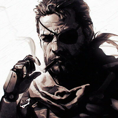 "226 Metal Gear Solid - Snake Rising v the Phantom Pain Game 24""x24"" Poster"