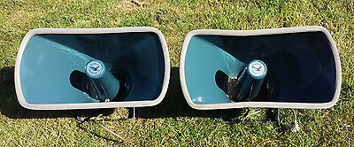 2 Vintage Retro horn speakers - Eagle products Made in Japan - 15W