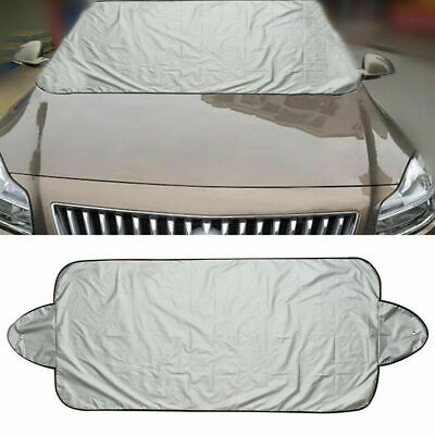 Car SUV Folding Windshield Protect Cover Snow Ice Frost Protector Sun Shield NEW