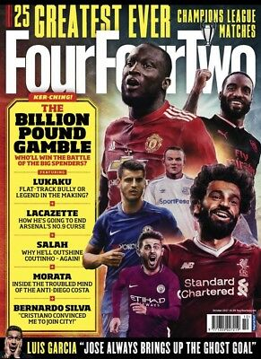 Four Four Two Magazine October 2017 (BRAND NEW COPY)