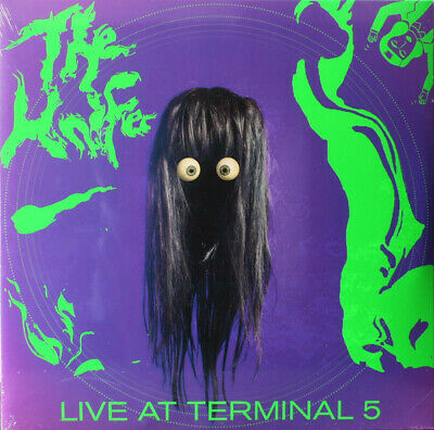 Knife Live At Terminal 5 vinyl 2 LP + CD + DVD NEW/SEALED