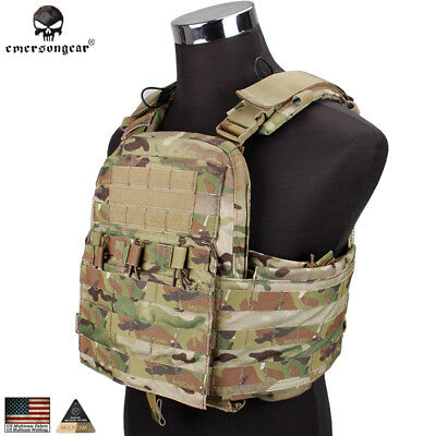 Emerson CP Style CPC Tactical Vest Cage Plate Carrier Molle Army Gear EM7400