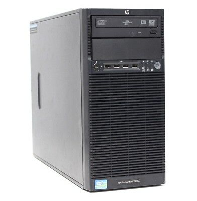 HP Proliant ML110 G7 Server // 1x E3-1220, 8 GB, B110i, 4-fach Backplane