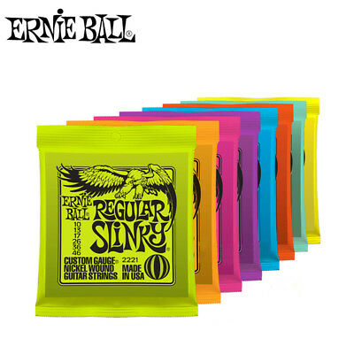 Ernie Ball Electric Guitar Strings Play Real Heavy Metal Rock 2220 to 2627